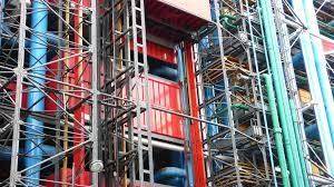 Le centre pompidou en travaux