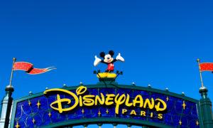 Disneyland Paris porte d'entrée