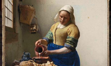 Peinture la laitière, devenue érégie de la marque La laitière, firme de Danone