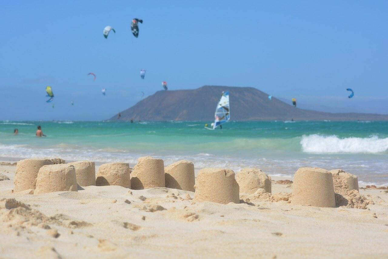 Plage des Canaries Corralejo à Fuerteventura